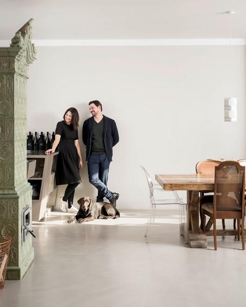 Im Jahr 2007 legten Marion Ebner und Manfred Ebenauer den Grundstein für ihr gemeinsames Schaffen (Foto Christof Wagner)