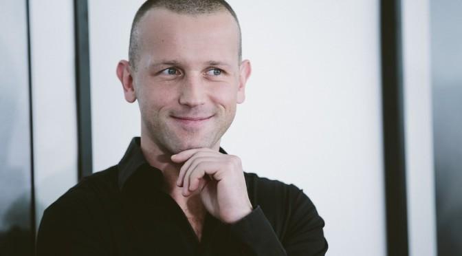 Szymon Brodziak im Atelier Jungwirth