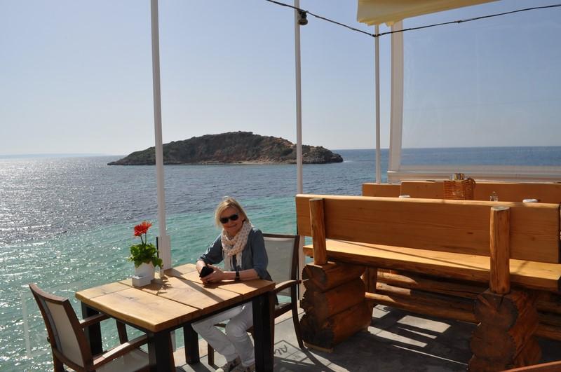 Beach Alm - ein wunderbarer Platz zum Entspannen und herrlichem Blick aufs weite Meer (Foto Reinhard Sudy)