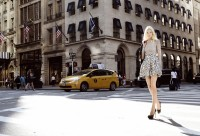 """Designerin Eva Poleschinski shootete ihre Kollektion """"My own Walls"""" in New York (Foto Eva Maria Guggenberger)"""