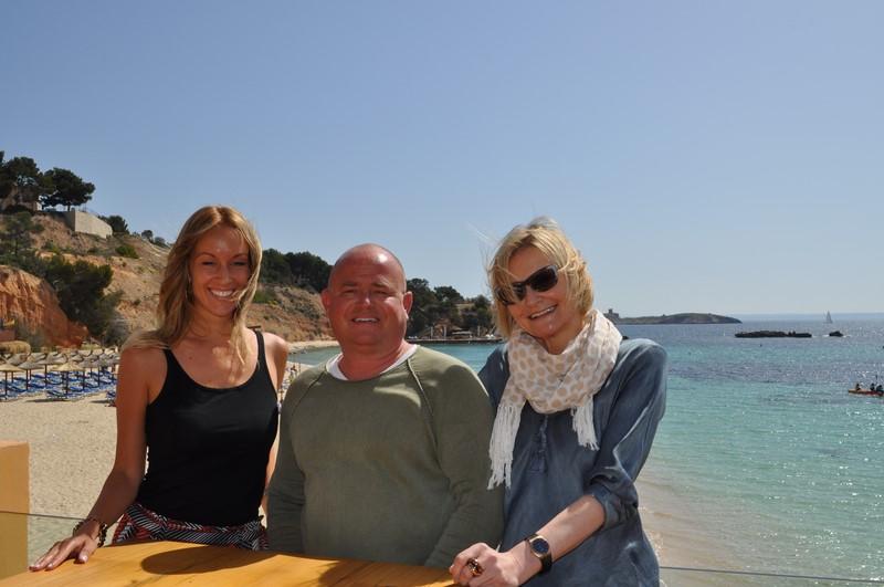 Nadine Niklas, Stephan Ohnek und Hedi Grager (Foto Reinhard Sudy)