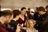 Backstage bei Lena Hoschek, Fashion Week Berlin (Fotos Nicholas Beutler und Michael Romacker)