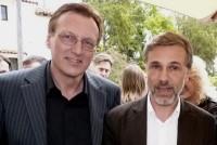 Dr. Rudolf Thaler mit Oscar-Preisträger Christoph Waltz (Foto beigestellt)