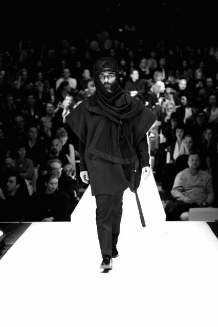 Die Berliner Designerin Esther Perbandt kombiniert feminine und maskuline Mode  (Foto Birgit Kaulfuss)