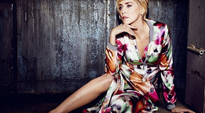 Sharon Stone for AIRFIELD