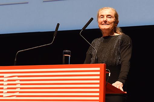 Die großartige Schauspielerin Erni Mangold erhielt den Großen Schauspielpreis (Foto Diagonale/Pelekanos)
