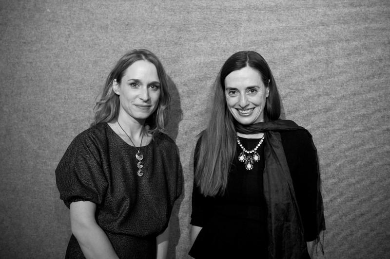 Regisseurin Mirjam Unger, hier mit der heimischen Filmproduzentin Gabriele Kranzelbinder (Foto Diagonale/Raneburger)