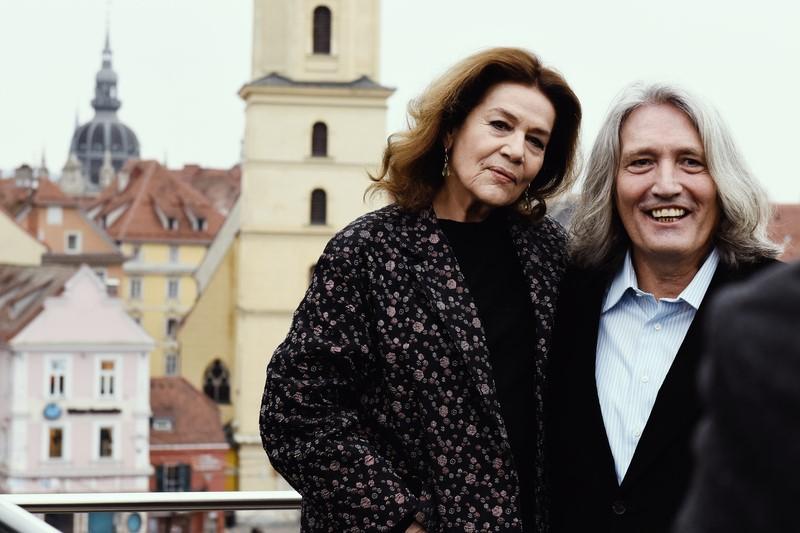 """Zur Premiere von """"Hannas schlafende Hunde"""" war die großartige Schauspielerin Johanna Elsner persönlich in Graz (Foto Diagonale/Pelekanos)"""