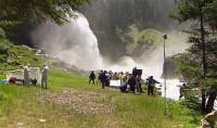 """""""Die Drachenjungfrau"""" spielt bei den Krimmler Wasserfällen (Foto ORF)"""