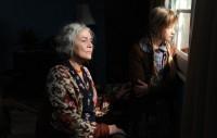 Hannelore Elsner und Nike Seitz (Foto Kerstin Stelter für Enigma-Film)