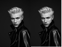 Lucky Blue Smith für L'Oreal Paris (Foto L'Oreal Paris)