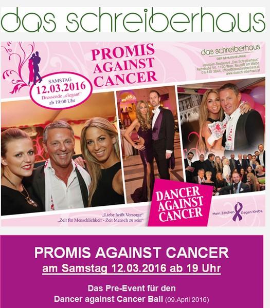 Screenshot Promis against Cancer