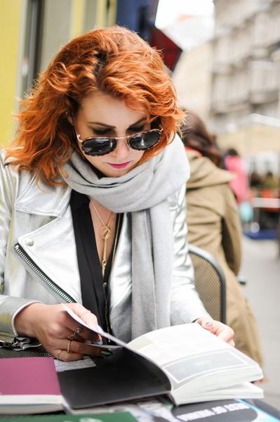 """Autorin Cecilia Leitinger: """"WE ARE VIENNA soll meine ganz persönliche Ode, meine Liebesgeschichte sein, die ich Wien – in meinen Augen der großartigste Fleck auf Erden - schuldig bin."""" Erhältlich im Buchhandel und auf www.wearevienna.eu."""