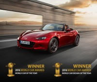 MX-5 ist World-Car-of-the-Year 2016 (Foto Mazda Austria)