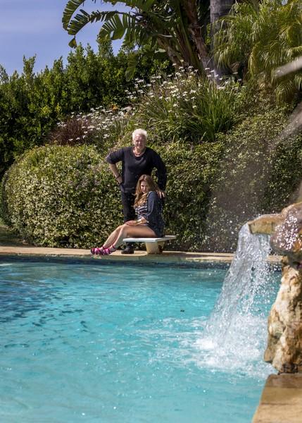 Peter und Lea Millesi leben und arbeiten in Malibu/Los Angeles, was sie sehr genießen (Foto beigestellt)