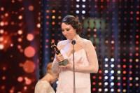 Die ROMY-Gala 2016 in der Wiener Hofburg, hier Preisträgerin Ursula Strauss (Foto Kurier)