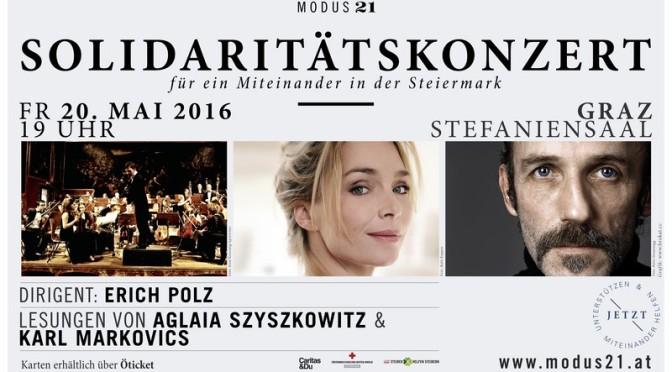 Solidaritätskonzert für ein Miteinander in der Steiermark