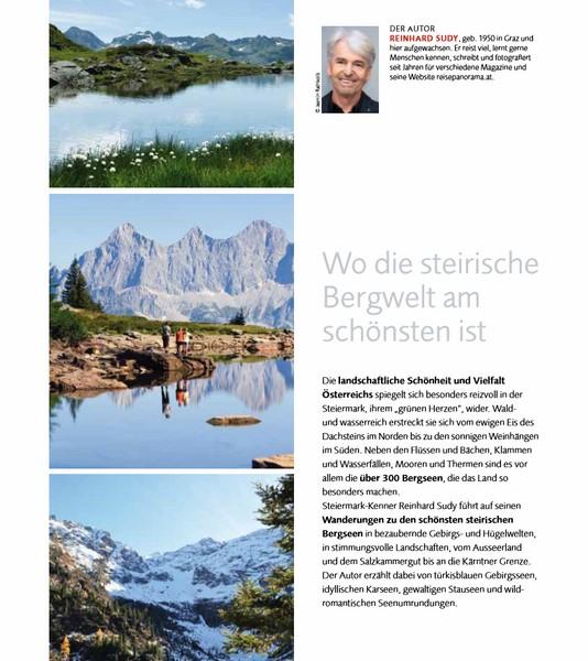 Steirische Bergseen_ Autor Reinhard Sudy