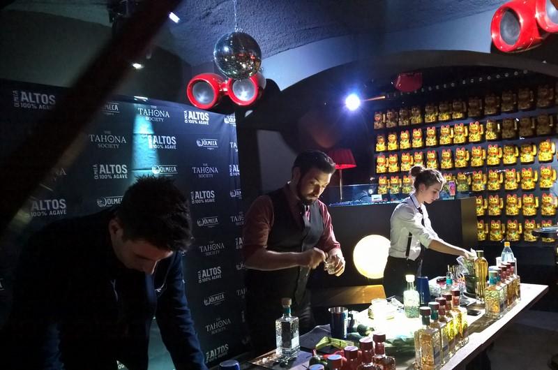 Die Challenge bestand in der Kreation eines Olmeca-Cocktails. Für den mussten mindestens zwei zuvor unbekannte Zutaten aus einer Black Box ausgewählt werden und mit zwei oder mehreren eigenen Zutaten noch ergänzt (Foto Hedi Grager)