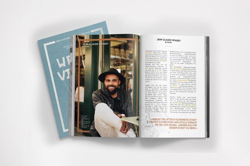 Im Buch WE ARE VIENNA verrät u.a. Fashion Blogger Jean Claude Passy seinen liebsten Geheimspot.