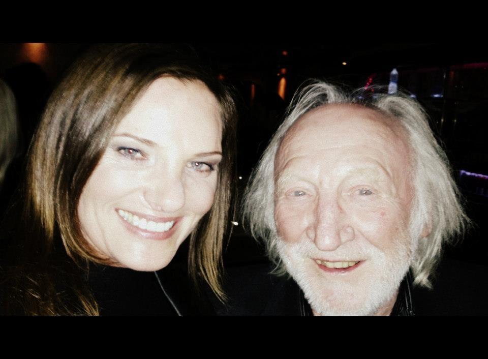 Daniela Matschnig mit Schauspieler_Karl Merkatz (Foto beigestellt)