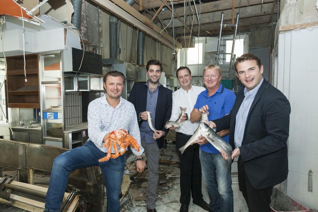 Noch eine Baustelle, aber bald wird das neue Fischrestaurant el Pescador der Gastrofamilie Grossauer eröffnet (Foto Werner Krug)