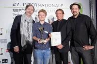 KR Alexander V. Kammel, Harry Kemp, Hans Schullin, Markus Karlseder, (Foto APA-Fotoservice/Thomas Preiss)