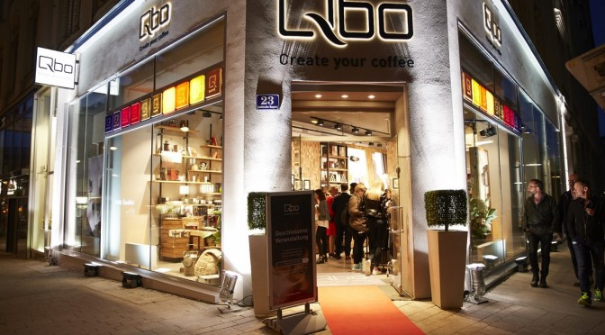 Premiere in Wien: Qbo – Create your coffee