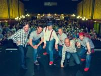 Safer Six bei ihrem erfolgreichen Auftritt im Wiener Orpheum (Foto beigestellt)