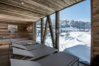 """Das Badhaus """"Innere Mitte"""" mit seinem Heaven SPA und einem 360 Grad Himmelsblick bietet höchste Wellnessfreude (Foto PURADIES)"""