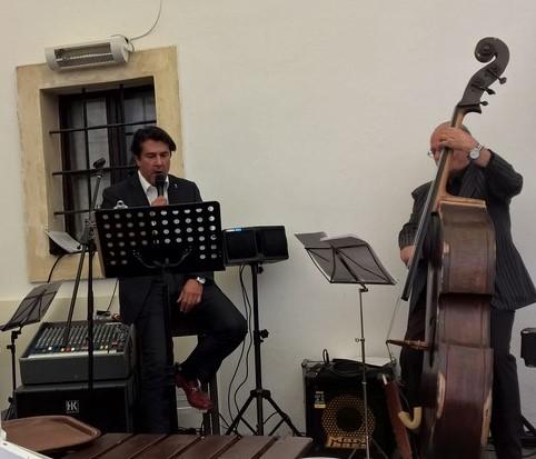 Der international erfolgreiche Sänger 7Ray im steirischen Schloss Dornhofen (Foto Hedi Grager)