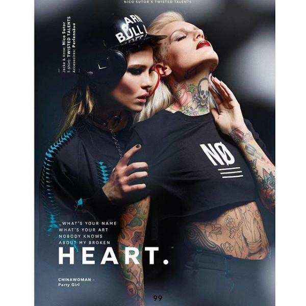 Lexy Hell im 'Libertine Magazine' (Foto Tom Fischer)