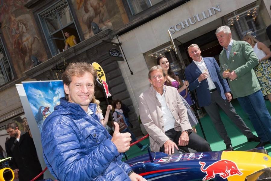 Der ehemaligen Formel 1-Pilot Jarno Trulli besuchte Graz aus Anlass des kommenden Grand Prix in Spielberg  (Foto Jorj Konstantinov, geopho.com)