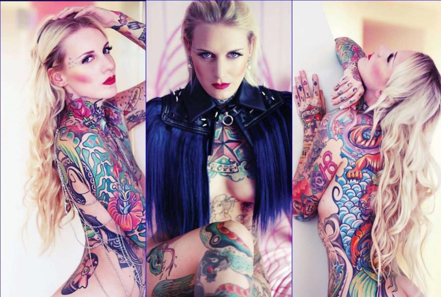 Lexy Hell im VOLO MAGAZINE #13, Designer Schwarzer Reiter (Fotos Ava Pivot)
