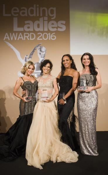 Starke 'Leading Ladies': Sylvie Meis, die inzwischen leider verstorbene Miriam Pielhau, Barbara Becker und Sonja Klima (Foto Madonna)