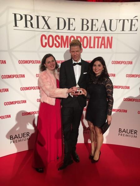 Douglas gewann heuer den Prix de Beauté in der Kategorie Körperpflege Damen mit Douglas HOME SPA (Foto Douglas)