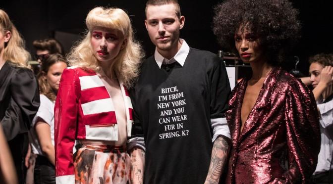Thomas Hanisch präsentiert seine Spring/Summer 2017 Kollektion auf der Mercedes Benz Fashion Week Berlin (Foto wongwannawat)