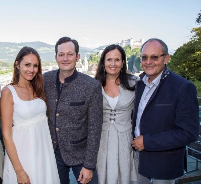 Anna-Katharina, Dominik,  Stefanie und Helmut Schramke