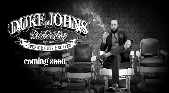 DUKE JOHNS' BARBER SHOP