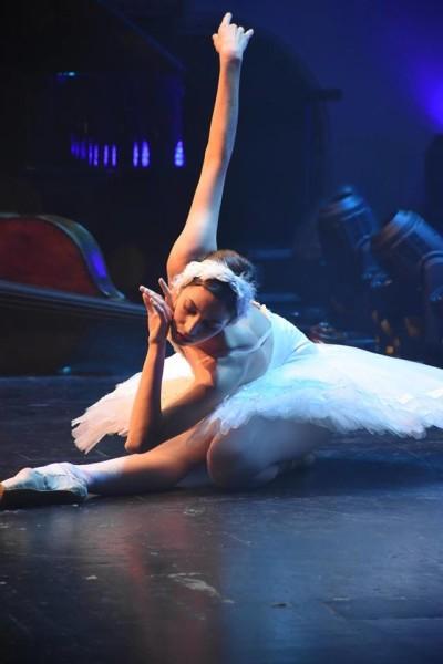 Die Darbietungen von Balletttänzerin Maria Yakovleva begeisterten das Publikum (Foto FLASHED Events)