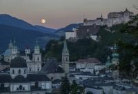Salzburg uns sein Mönchsberg (Foto Andreas Kolarik)