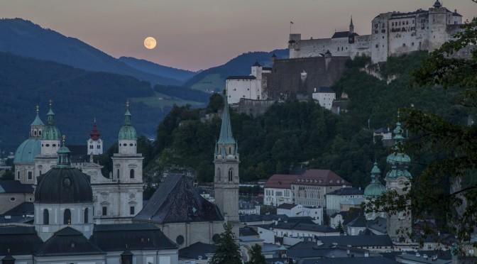 """""""Gipfeltreffen"""" am Salzburger Mönchsberg"""