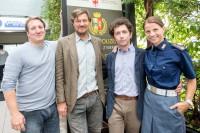 Robert Palfrader, Harald Windisch, Thomas Rizzoli, Kristina Sprenger (Foto ORF/ORF/APA/Jan Hetfleisch)