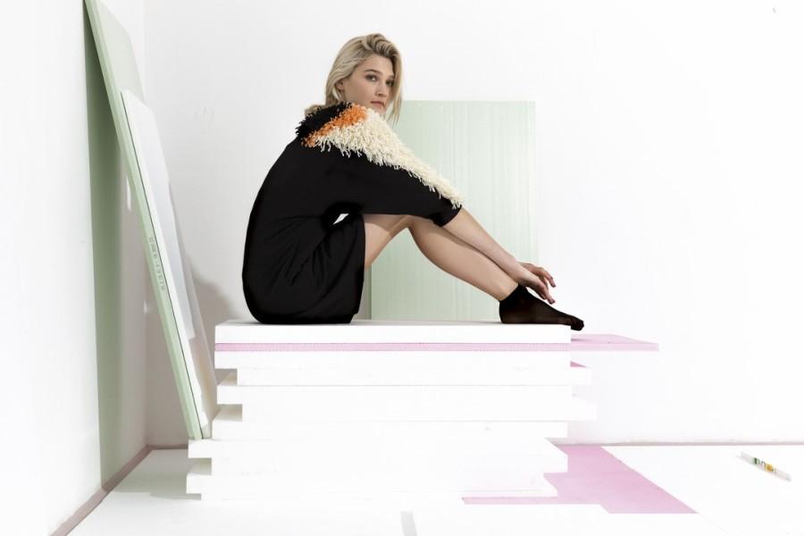 SIGHTLINE - Die AW 16/17 Kollektion TRACES der Designerin Vivien Sakura Brandl wurde im Frühjahr in Tokio und Paris gezeigt (Foto Mario Kiesenhofer)
