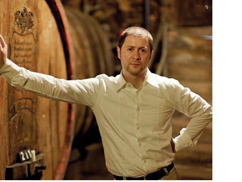 Stephan Attmann leitet seit November 2007 das Weingut von Winning in der Pfalz (Foto Weingut Von Winningen