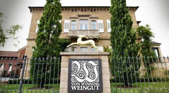 Weingut Von Winning zu Gast in Ehrenhausen