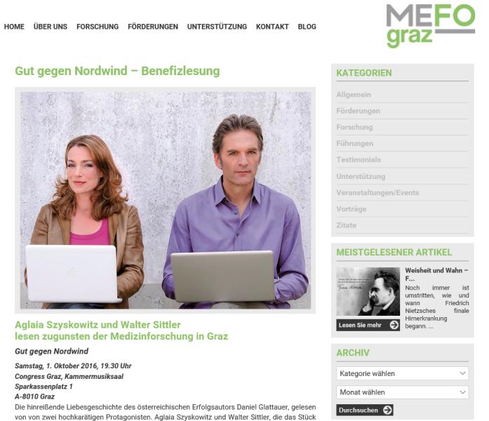 Charity MEFOgraz