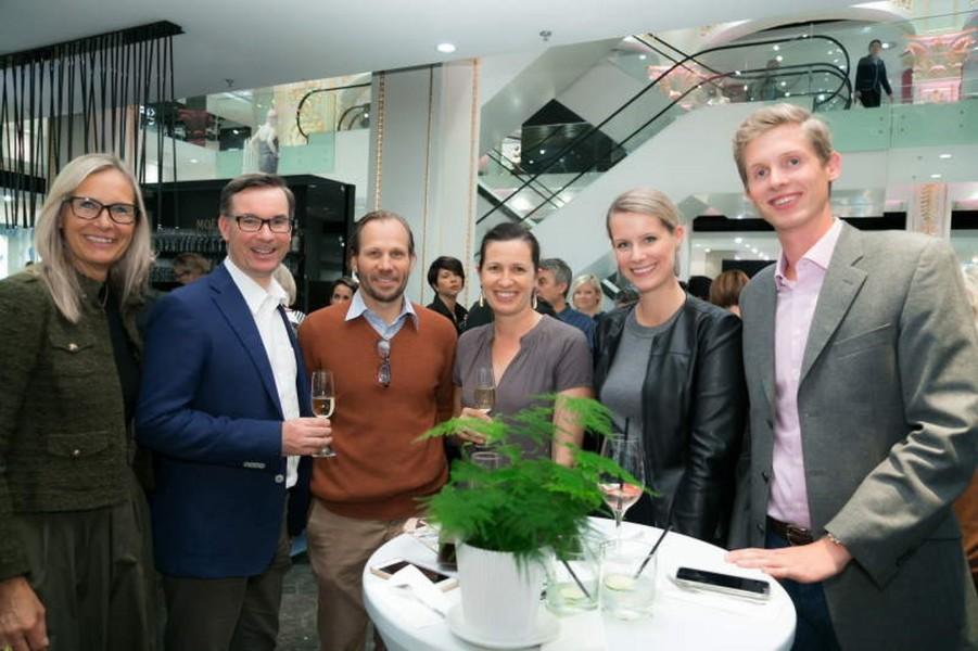 Unter den Gästen auch Klaus Weikhard, Gottfried Pengg-Auheim, Julia Pengg und Caroline List (Foto K&Ö)