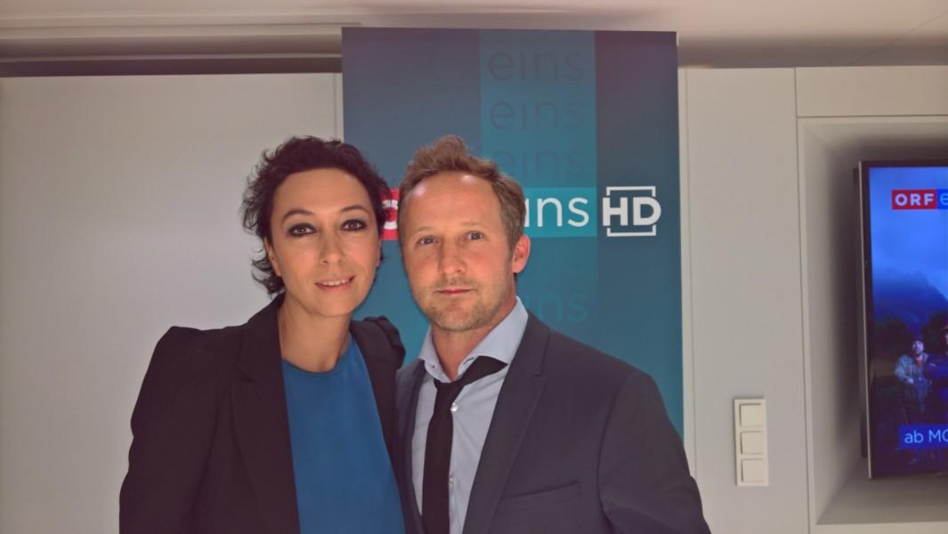 """Großartige Leistung der Schauspieler Ursula Strauss als Maria Bucher und Maximilian Brückner als Hannes Bucher im ORF-Krimivierteiler """"Pregau"""""""