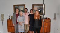 """Josef Hader, Christine Ostermayer, Andreas Kindl, Pia Hierzegger und Brigitte Hobmeier in der ORF-Stadtkomödie """"Die Notlüge"""". (Foto ORF/EpoFilm/Stefan Haring)"""